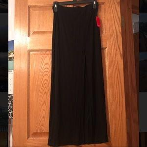 Forever 21 Long Black Skirt